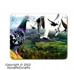 Personalised Racing Pigeon Mousemats Placemats Small / Large